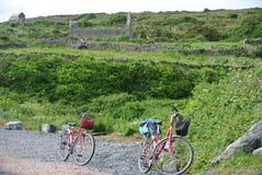 Deux vélos photographie stock