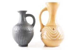 Deux vases Photo libre de droits
