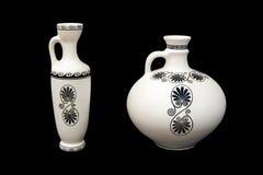Deux vases grecs Image libre de droits