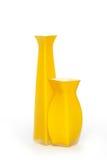 Deux vases modernes images stock