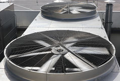 Deux ventilateurs Image libre de droits