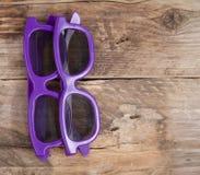 Deux verres 3D Photographie stock