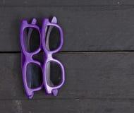 Deux verres 3D Photographie stock libre de droits