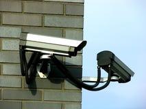 Deux vidéos surveillance Images stock
