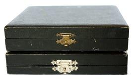 Deux vieux cadres de bijou Photographie stock libre de droits