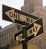 Deux voies Photos libres de droits