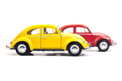 Deux Volkswagen Beetle Photo libre de droits