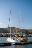 Deux yachts. photos libres de droits