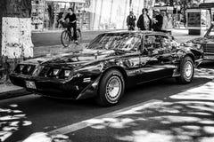 Deuxième génération du transport AM de Pontiac Firebird Turbo de voiture de muscle Images stock