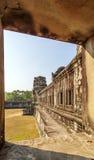 Deuxième mur de clôture, Angkor Vat, Siem Reap, Cambodge Photo libre de droits