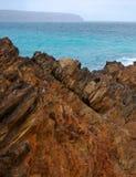 Deuxième vallée rocailleuse Images libres de droits