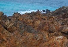 Deuxième vallée rocailleuse en hiver Image stock
