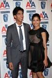 Dev Patel,Freida Pinto Royalty Free Stock Image