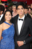 Dev Patel,Freida Pinto Royalty Free Stock Photo