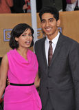 Dev Patel,Freida Pinto Royalty Free Stock Photography