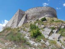 Deva forteca w Transylvania, Deva, Rumunia Zdjęcia Royalty Free