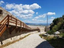 Deva forteca w Transylvania, Deva, Rumunia Zdjęcia Stock
