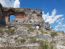 Deva Fortress en Transilvania, Deva, Rumania Fotografía de archivo libre de regalías