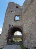 Deva Fortress en Transylvanie, Deva, Roumanie Images libres de droits