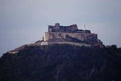 Deva Fortress - Siebenbürgen Stockfotografie