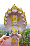 Deva nella decorazione tailandese tradizionale di stile Immagine Stock Libera da Diritti