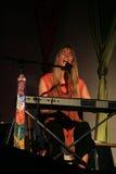 Deva Premal en concierto Foto de archivo libre de regalías