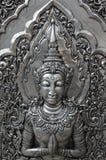 Deva silver carving. Royalty Free Stock Photos