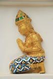 Deva statue Stock Photo