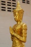 Deva statue. Royalty Free Stock Photo