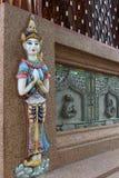 Deva statue. Stock Image