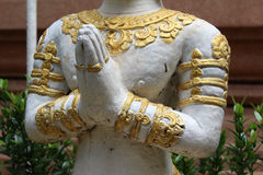 Deva statue. Royalty Free Stock Photography