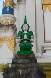 Deva statue. Royalty Free Stock Image