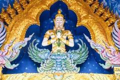 Deva Statue Image Royaltyfri Foto