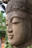 Deva stone sculpture Stock Images