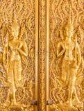 Deva Thai style. Thasung Temple, Uthaithani Province, Thailand Royalty Free Stock Photo