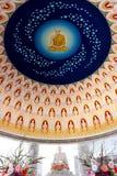 Deva väggmålning i tempel Royaltyfri Foto