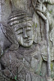Deva wood sculpture Stock Photography