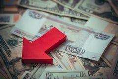 devaluación Imágenes de archivo libres de regalías