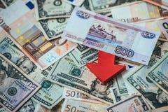 Devaluation Royalty Free Stock Photos