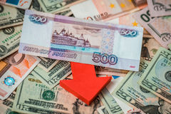 Devaluation Royalty Free Stock Image
