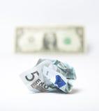 devalverad euro arkivbilder