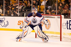 DEVAN DUBNYK  Edmonton Oilers Stock Photo