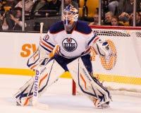 Devan Dubnyk, Edmonton Oilers Royalty Free Stock Photo