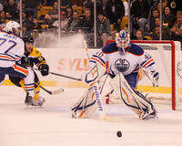 Devan Dubnyk, Edmonton Oilers Stock Images