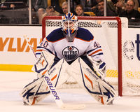Devan Dubnyk, Edmonton Oilers Royalty Free Stock Images