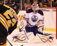 Devan Dubnyk, Edmonton Oilers Royalty Free Stock Photography