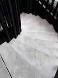 Devanadera, pasos que se curvan en plan. Foto de archivo libre de regalías