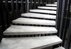 Devanadera, pasos que se curvan en plan. Fotografía de archivo libre de regalías