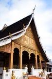 Devant le temple. Photographie stock libre de droits