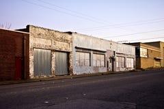 Devanture de magasin abandonné image libre de droits